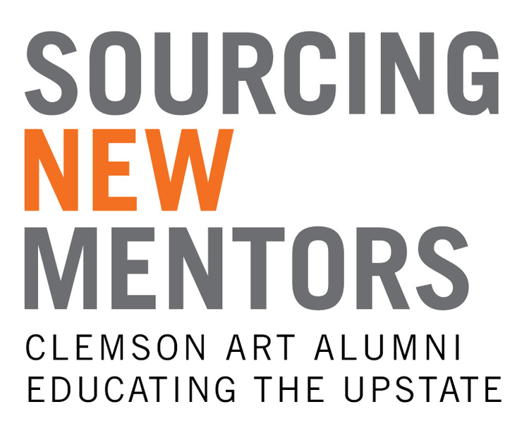 """Sourcing New Mentors: Clemson Art Alumni Educating the Upstate"" Exhibit"