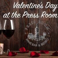 Valentine's Day at Newhall Press Room