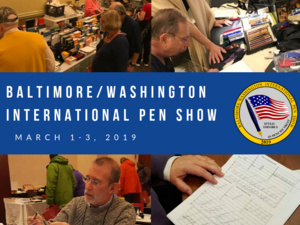 Baltimore/Washington International Pen Show