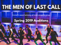 The Men of Last Call Spring 2019 Auditions