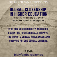 Global Citizenship in Higher Education