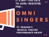 It's Not Too Late to Join / Register for OMNI SINGERS!!