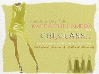 Kappa Phi Lambda Fall 2013 Recruitment Week