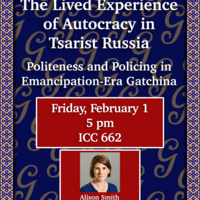 The Lived Experience of Autocracy in Tsarist Russia: Politeness and Policing in Emancipation-Era Gatchina
