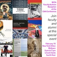 MICA Faculty Authors Reception
