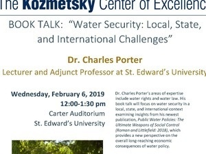 Book Talk: Water Security- Local, State, and International Challenges