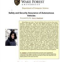 Safety and Security Assurance of Autonomous Vehicles