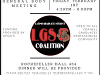 LGSC General Body Meeting