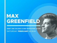 An Evening with Max Greenfield