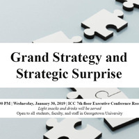 Special Briefing on Grand Strategy and Strategic Surprise