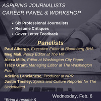 Journalism Career Panel and Workshop