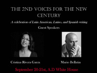 Conference: 2nd Voices for the New Century: A Celebration of Latin American, Latino, and Spanish Writing, Friday-Saturday, September 20-21