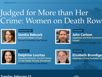 Judged for More than Her Crime: Women on Death Row