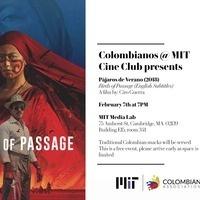MIT Colombian Cine Club Series presents: Birds of Passage