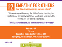 Empathy Workshop Series Session 2: Empathy for Others