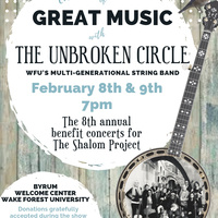 The Unbroken Circle Benefit Concert for The Shalom Project