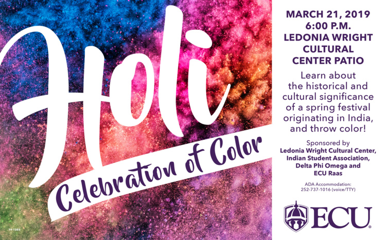 Asian & Pacific Island Heritage Month: Holi