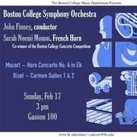 Boston College Symphony Orchestra, John Finney, conductor