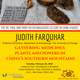 """Judith Farquhar Presents Ho Lecture on """"Gathering Medicines: Plants and Powers in China's Southern Mountains"""""""