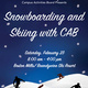 Snowboarding and Skiing with CAB