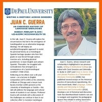 Dr. Juan C. Guerra: An Embodied History of Language Ideologies