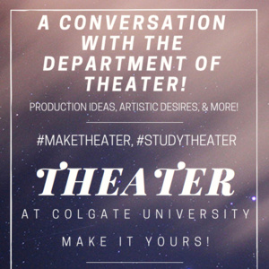 A Conversation With The Department of Theater