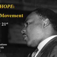 Screening: With INFINITE HOPE: MLK and The Civil Rights Movement
