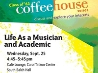 Coffeehouse: Life as a Musician and Academic