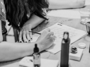 Cocktails and Calligraphy: Learn Modern Calligraphy at Bookmakers Baltimore