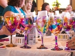 Grape to Glass Painting Class