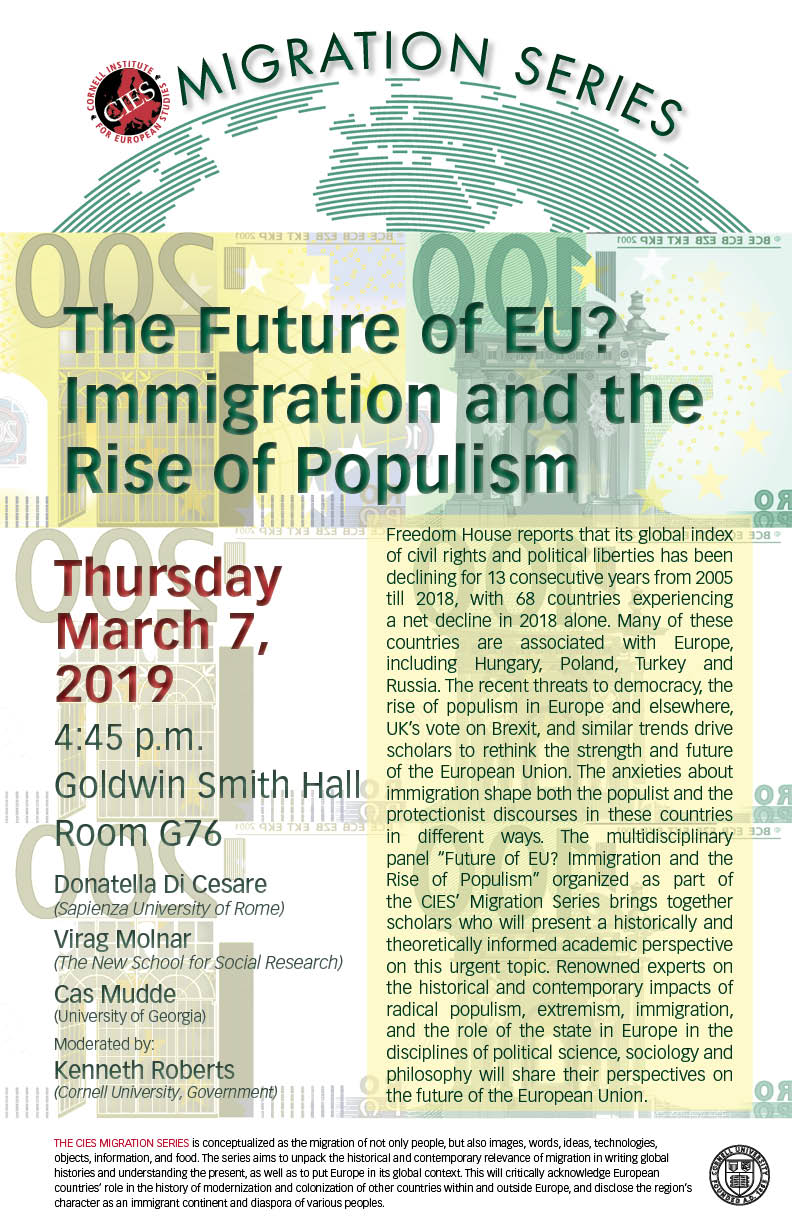 The Future of EU? Immigration and the Rise of Populism