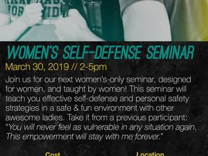 Women's Self-Defense Seminar