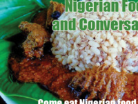 Cultural Series: Nigerian Food and Conversation