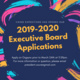 VE 2019-2020 Executive Board Applications