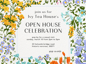 Ivy Tea House  - Open House Celebration