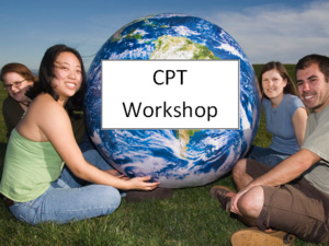 Curricular Practical Training (CPT/Internships) Workshop for International Students