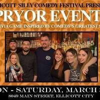 Ellicott Silly Comedy Festival - 'Pryor Events' Comedy Trivia