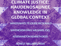 Practicing Peace for Climate Justice: Haudenosaunee Knowledge in Global Context