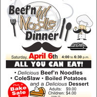 St. Paul's UMC Beef and Noodle Dinner