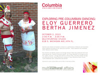 Exploring Pre-Columbian Dancing w/ Eloy Guerrero and Bertha Jimenez