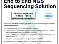 Lunch and Learn with Roche: End to End Next Generation Sequencing Solution
