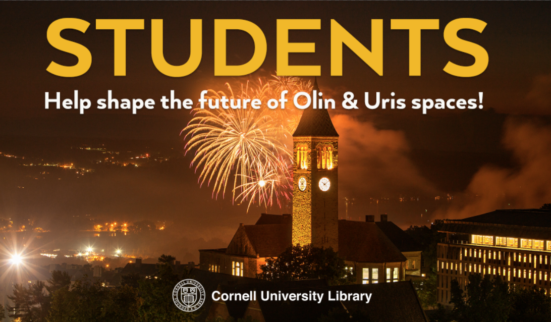 Olin & Uris Libraries Design Research Workshop for Students