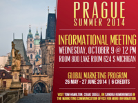 Prague Summer 2014 Informational Meeting