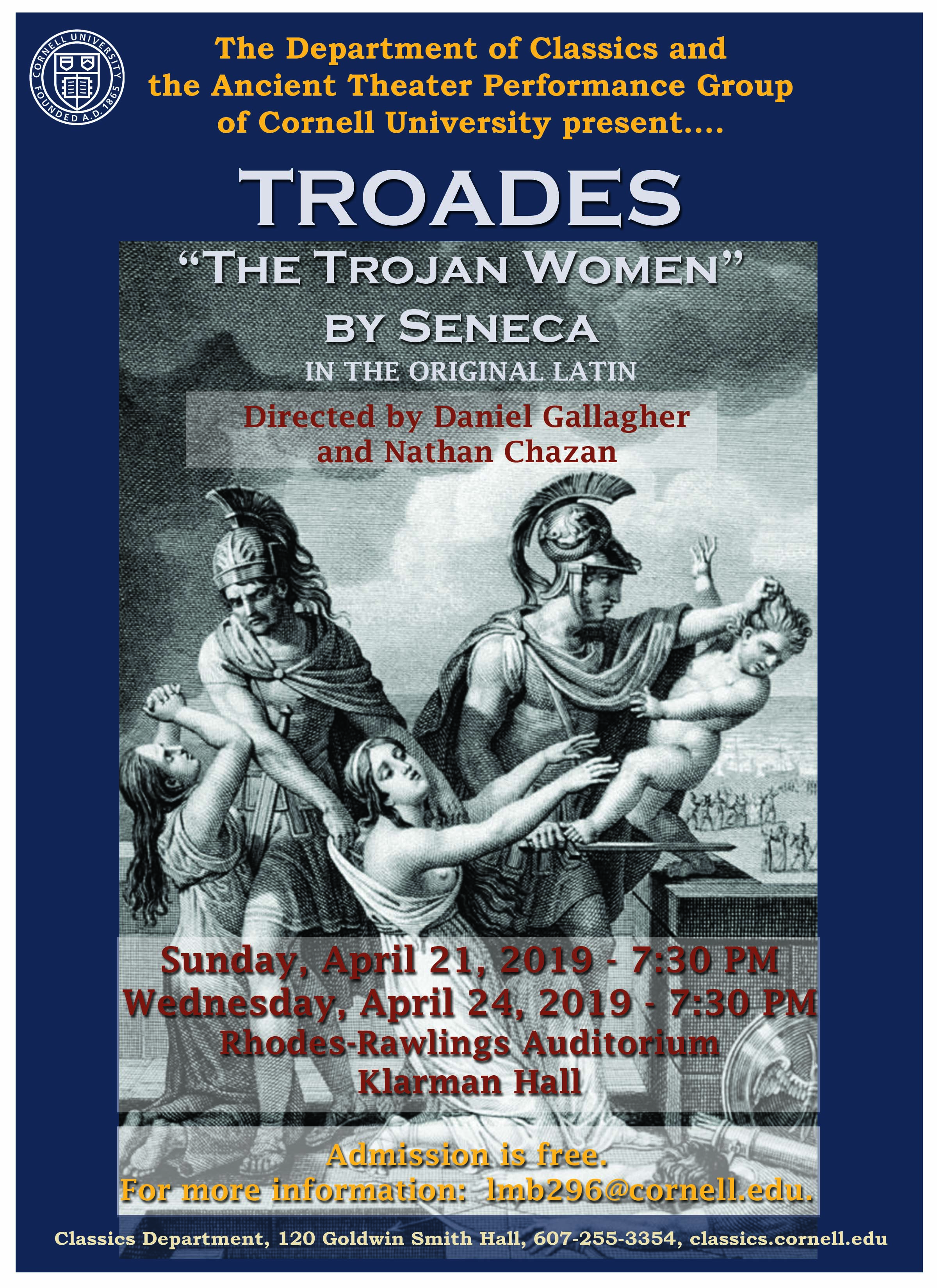 Ancient Theater Performance of Troades (The Trojan Women)
