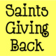 Saints Giving Back Meeting