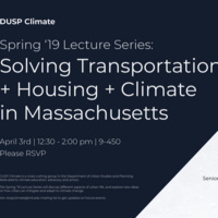 Solving Transportation, Housing, & Climate Impacts in MA