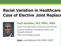 Racial Variation in Healthcare Utilization: The Case of Elective Joint Replacement Surgery