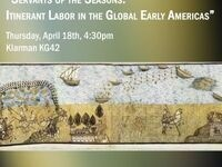 "Molly Warsh, ""Servants of the Seasons: Itinerant Labor in the Global Early Americas"""