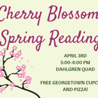 Cherry Blossom Spring Reading