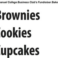 Emmanuel College Business Club Fundraiser Bake Sale